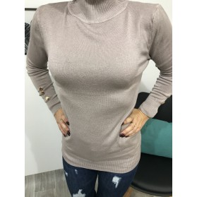 PULL HELOISE TAUPE