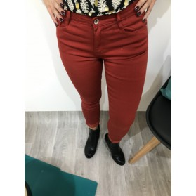 JEANS INAÉ ROUGE